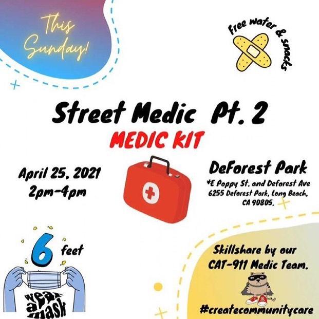 CAT-911 Long Beach+Street Medics: Medic Kit Skillshare